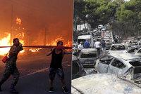 """""""Viděla jsem mrtvoly, spálené vozy."""" Řecká tragédie rozplakala i záchranáře"""