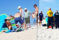 Turistku (46) na pláži probodl slunečník! Letěl pro ni vrtulník
