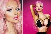 Česká Barbie Gabriela Jiráčková (18): Moje krása stojí 40 tisíc měsíčně!