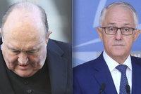 Australský arcibiskup kryl zneužívání dětí, teď odstoupil. Tlačil na něj i premiér