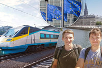 EU dala Michalovi (18) měsíc cestování po Evropě zdarma. Na tisíce mladých se nedostalo