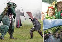 Tipy na víkend: Fantasy bitva, setkání vodníků i mistrovství v extrémních skocích do vody
