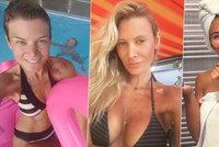 Modelky odhalují tváře bez make-upu: Jak vypadá Vítová, Průšová nebo Bezděková bez vylepšení?