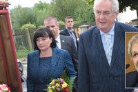 Expert Šmolka o manželství Zemanových: Pomohlo, že Miloš kvůli Ivaně neomládl