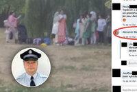 Pražský strážník, který by rád střílel muslimky, je mimo službu: Spáchal trestný čin?