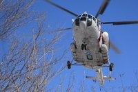Po nehodě vrtulníku zemřelo 18 lidí. Havaroval a shořel krátce po startu v Rusku