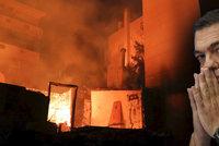 Řekové po požárech zbourají tisíce nelegálních domů. Premiérovi došla trpělivost