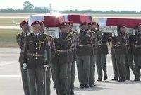 Zeman ocení padlé vojáky. Martin, Kamil a Patrik dostanou medaile Za hrdinství