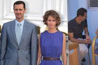Manželka diktátora Asada má rakovinu prsu. Prezident šokoval fotkou z onkologie