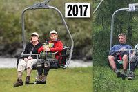 Po Merkelové se slehla zem, manžel jel na dovolenou sám. Krize ve vztahu?