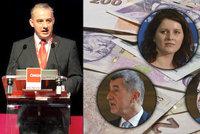 Hra o miliardy: Odboráři chtějí víc pro státní správu, sešli se s Hamáčkem a Maláčovou