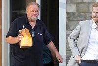 Otec Meghan je s Harrym na nože: Princovi práskl s telefonem!