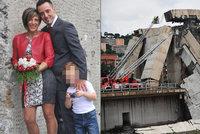 Samuel (†7) s rodiči zemřel při pádu mostu. Již 42 obětí, záchranáři však věří v přeživší