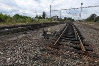 Na kolejích u Brandýsa našli mrtvolu! Vlaky stály několik hodin