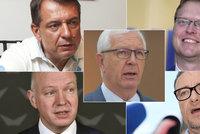 Seznam kandidátů na senátora: Kdo se na podzim pokusí o vaši přízeň
