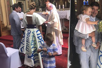 Saša Rašilov se oženil! Nevěsta navrhla šaty s láskou