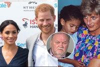 Otec vévodkyně Meghan potřebuje pomoc! Harry udělal chybu, míní osoba blízká princezně Dianě (†36)