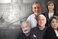50 let od okupace: Vzpomínky 20 osobností. Krampola chtěli zastřelit, Kubišovou ukrývali!