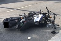 Motorkář předjížděl na Vyškovsku: Nezvládnutý manévr zaplatil životem