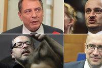 Jiskřivý boj o Senát: Rektor vs. Střihoruký Edward i Paroubek kontra Konvička