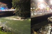 Chránili je andělé strážní: Dva Češi sjeli v Rakousku do řeky, unášela je půl kilometru