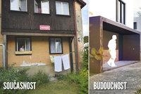 Problematické Zátiší v Plzni se změní: Omšelé domy zbourají, město za 310 milionů postaví nové