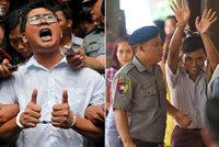 """Novináři známé agentury dostali v Barmě sedm let. Kauzu prý """"ušila"""" tamní policie"""