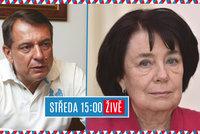 """ŽIVĚ: """"Odpadlíci"""" ČSSD Paroubek a Syková. Proč chtějí do Senátu?"""