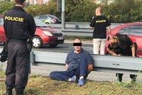 Zfetovaný Polák uháněl v kradeném autě po Jižní spojce: Luxusní vůz patří rakouskému architektovi