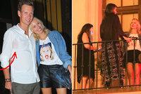 Hvězdný host týdne módy Karolína Kurková: Soukromý mejdan na balkoně