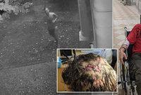Brutální napadení dlažební kostkou: Útočník bezdůvodně zmlátil muže, poznáte ho?