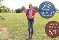 Víkend přinese letní teploty, hrozí ale přeháňky a bouřky. Sledujte radar