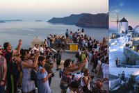 Davů turistů mají plné zuby. V řeckém ostrovním ráji se hádají o chystaná omezení