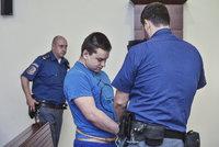 Havel (23) bezdůvodně brutálně zabil dva lidi: Soud ho poslal na 28 let do vězení