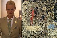Uhranutý magií a mystikou: Medik Jan (23) začal malovat kvůli dívce, dnes vyhrává ocenění