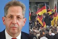 """Šéf tajné služby """"otočil"""" kvůli videu s migranty v Chemnitzu. Ministr za ním stojí"""