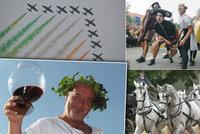 Tipy na víkend: Zažijte město jinak, ochutnejte vína i burčáky a obdivujte letadla