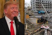 Portoričané zuří z Trumpa: Popřel, že si u nich hurikán Maria vyžádal 3 tisíce životů