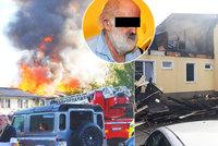 Smrt při požáru ubytovny v Plzni: Hořet začalo od svíčky, policie obvinila důchodce