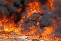 Hromadná sebevražda upálením! 6 migrantů ve Vídni skončilo s těžkými zraněními