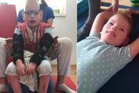 """""""Zemře,"""" tvrdili doktoři. Michálek (10) díky péči rodiny bojuje, potřebuje ale pomoc"""