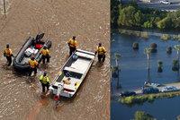 Velká voda protrhla hráz jezera: V USA hrozí zamoření odpadem a zplodinami