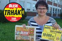 Výherkyně Daniela Světlíková (54) z Ostravy: 10 tisíc půjde na narozeniny, má je dnes!