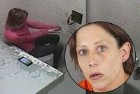 Žena (30) zadržená za krádež utekla z cely, po dvou hodinách ji zatkli za prostituci