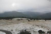 Je to tady: Na horách napadl první sníh, dlouho ale nevydrží
