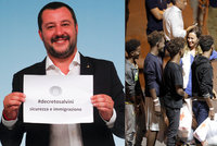 Itálie přitvrdila: Salvini vyslal na hranice hlídky. Brání převozu migrantů z Francie