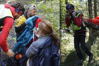 Češka se ve Slovenském ráji zřítila z 5 metrů: Z řeky ji vytáhli přátelé