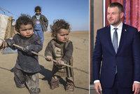 Babiš syrské sirotky odmítá, pomohou Slováci? Pellegrini to reálně zvažuje
