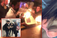 Týnuš Třešničkovou v Istanbulu zranil barman: Za popálený obličej milionové odškodné!