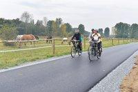 Na jihu Prahy přibudou dvě cyklostezky. Propojí metropoli s Dolními Břežany